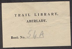 Trail Library Label